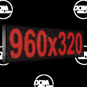Wyświetlacz tekstowy LED 960/320 (kolor czerwony)