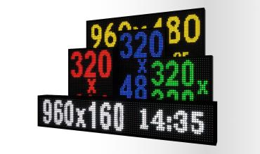 Tablice LED dla stacji paliw
