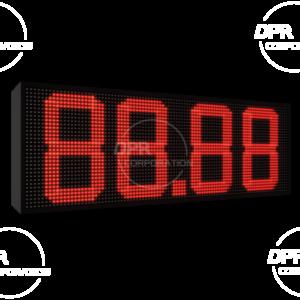 Wyświetlacz cenowy dla stacji paliwa 960 * 320 kolor czerwony