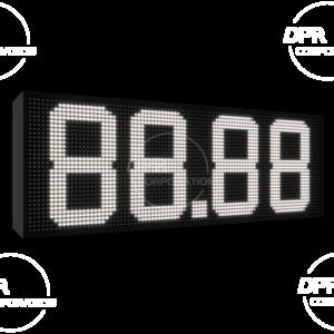 Wyświetlacz cenowy dla stacji paliwa 960 * 320 (biały, niebieski, zielony, żółty)